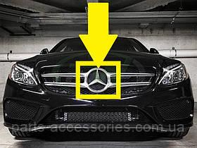 Mercedes C W205 W 205 емблема значок зірка в решітку радіатора нова оригінал