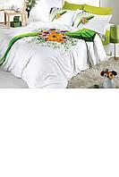 Комплект постельный полуторный (цветы)