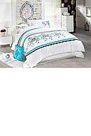Красивый постельный комплект евро (с рисунком)
