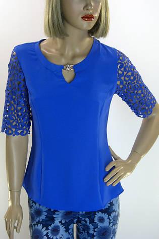 Блуза шифон- атлас Esay, фото 2