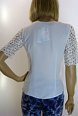 Блуза шифон- атлас Esay, фото 3