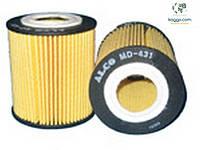 Alco md431 масляный фильтр для SSANGYONG Musso. FORD: Mondeo III, Galaxy II, Mondeo IV. MAZDA: 3 (BK) (03-09).