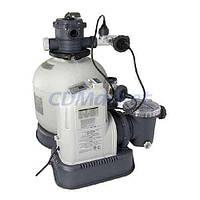 Intex Песочный фильтр-насос для бассейна с хлоргенератором Intex 28680