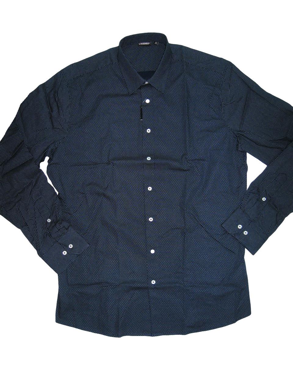 Рубашка мужская, Nobel Lauge, размер 43,, арт. М-178