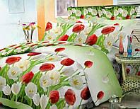 """Комплект постельного белья Тиротекс бязь """" Тюльпаны TIR51"""""""