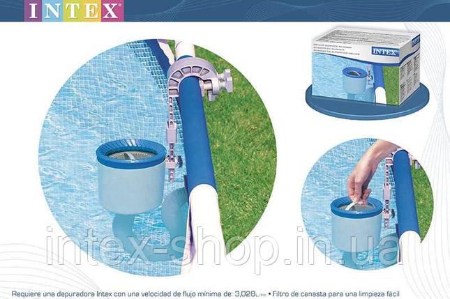 Скиммер для бассейнов Intex 28000 | 58949 . Скиммер — устройство для сбора мусора с поверхности воды., фото 2