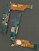 Шлейф LG E960 Nexus 4 с коннектором зарядки и компонентами