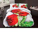 Постельное белье 3D (розы)