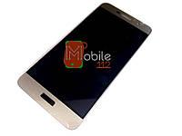 Модуль для Huawei Y6 Pro, Enjoy 5 TIT-U02 (Дисплей + тачскрин) золотистый, оригинал