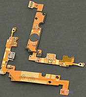 Шлейф LG E610 Optimus L5 с коннектором зарядки и компонентами