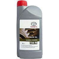 Трансмиссионное масло TOYOTA Universal Synthetic 75W-90 (Европа) 1л