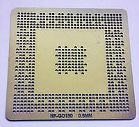 Трафарет BGA NF-GO150, шар 0,6 мм