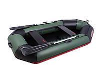 Двухместная надувная ПВХ лодка Vulkan V280 LP(ps)