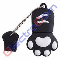 Подарочная Флешка USB 8Gb ElectroCom Cat Claw (Кошачий Коготь) 8, Черный