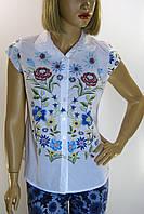 Блуза без рукава  цветочный принт Amiro
