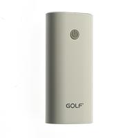 Портативная батарея с usb портом Power Bank GOLF GF-208 white 5200mah
