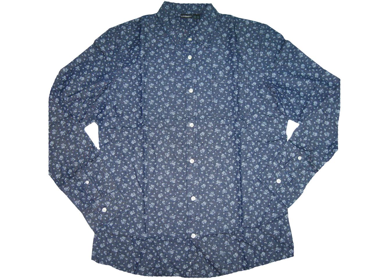 Рубашка мужская, LIVERGY, размер L(41/42),39-40, арт. М-177