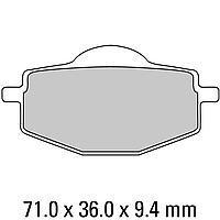 Комплект тормозных колодок Ferodo Platinum FDB383P