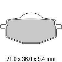 Комплект тормозных колодок Ferodo Platinum FDB383P, фото 1