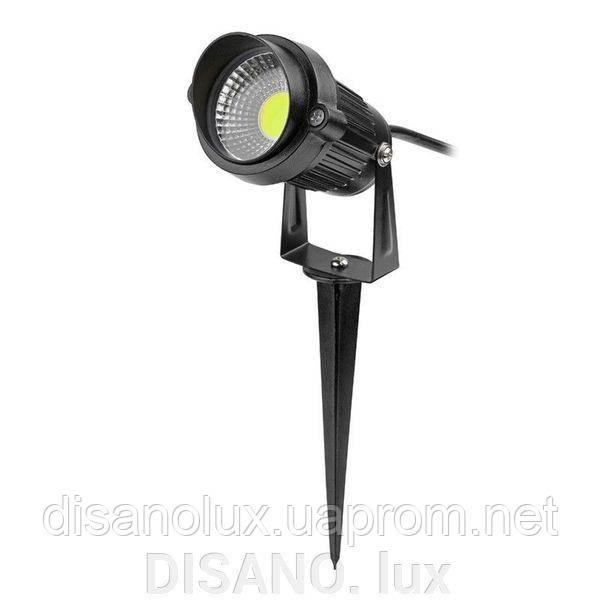 Светильник ландшафтный OL-03  Spike в грунт COB LED 5W/ 4100К  230V IP65