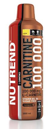 Carnitine 100000 Nutrend 1000 ml, фото 2