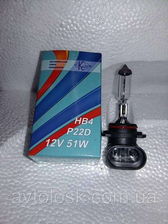 Лампа галогеновая НВ -4( 9006).51 ватт.12 вольт.
