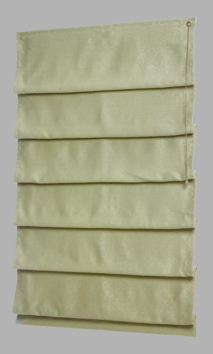 Римские шторы модель Каскад ткань Блэкаут с рисунком