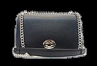 Прямоугольная женская сумочка DAVID DJONES черного цвета LLW-080130, фото 1