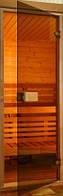 Двери для сауны и бани Saunax Classic (бронзовые)