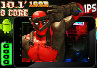 Крутой планшет Lenovo Bliss 8 ядер, экран 10.1, 16Gb, HDMI, 3G
