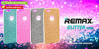 Силиконовый чехол  Remax Glitter Silicon Case Samsung J120 (J1-2016) Gold