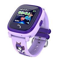 Детские GPS часы-телефон DF25 Фиолетовый