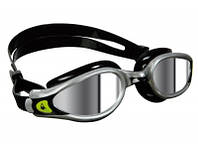 Очки для плавания Aqua Sphere Kaiman EXO (Серо-чёрный; линзы зеркальные)