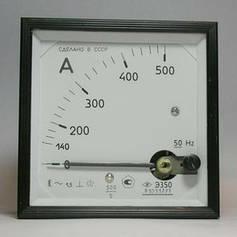 Амперметры, вольтметры щитовые переменного тока