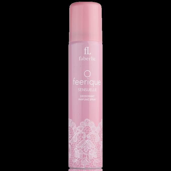 Парфюмированный дезодорант-спрей для женщин O Feerique Sensuelle