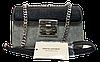 Стильная женская сумочка DAVID DJONES черного-серого цвета LLW-050290