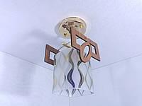 Люстра потолочная на 1 лампочку YR-6174/1-gd