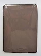 Чехол для iPad Air Прозрачный тонкий Силикон толщиной 0.8 мм Темный, фото 1