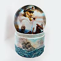 """Подарочная коробочка в морском стиле """"Морские истории"""" Ручная работа"""