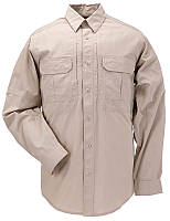 "Рубашка тактическая ""5.11 Tactical Taclite Pro Long Sleeve Shirt"" TDU Khaki, фото 1"
