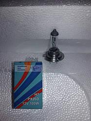 Лампа галогеновая Н-7 .100 ватт. 12 вольт.