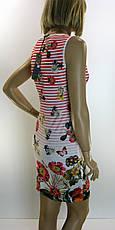 Платье трикотажное без рукава  , фото 3