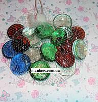 Декоративный стеклянный камень, Ирма