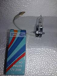 Лампа галогеновая Н-3 ,12вольт,55 ватт.