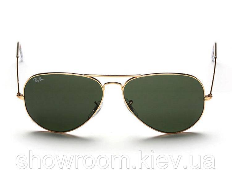 Женские солнцезащитные очки в стиле RAY BAN aviator 3025 (L0205) Lux