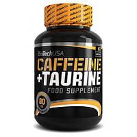 Caffeine+Taurine BioTech, 60 капсул