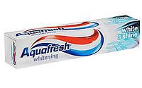 Зубна паста з відбілюючим ефектом Aquafresh white & shine 100 ml.