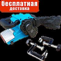 Ленточная шлифовальная машина с регулятором оборотов и креплением к столу Riber ЛШМ 76/1150Б