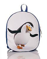 Прикольный детский рюкзак с пингвином