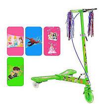 Детский трехколесный самокат Profi Trike